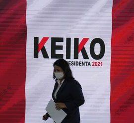 Keiko Fujimori niega los Resultados que dan Triunfo a Pedro Castillo