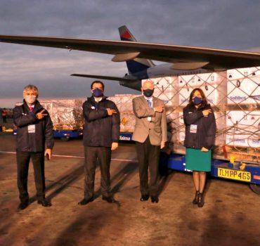 Llega a Perú segundo lote de vacunas donadas por EE.UU