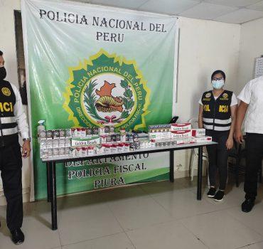 Policía de Piura y Tumbes descubre contrabando de cigarrillos