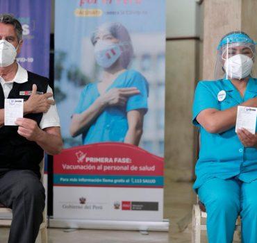 Francisco Sagasti dejará sistema eficaz de vacunación a nuevo gobierno