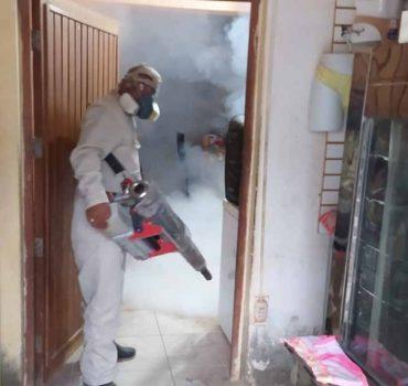 Diresa interviene más de mil viviendas para combatir el dengue