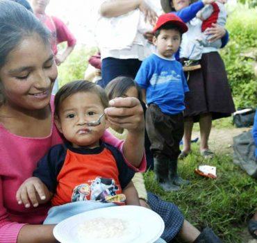 Gobierno regional emprende trabajo contra la anemia y desnutrición infantil